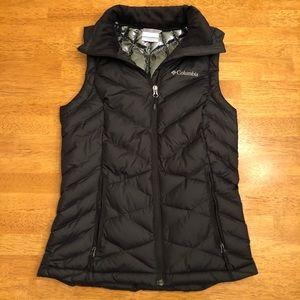 Columbia Omni-Heat Puffer Vest Women's XS Black